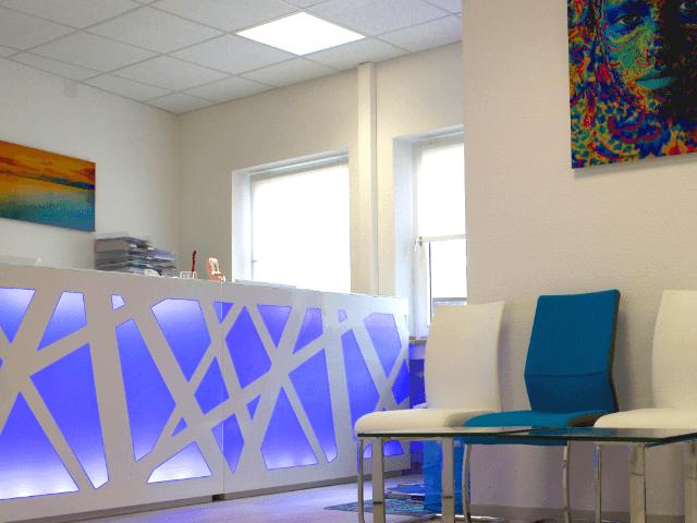 Zahnarztpraxis St. Sofia in Augsburg-Wartezimmer
