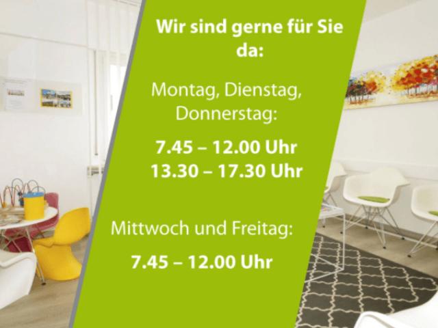Zahnarztpraxis Güney-Durmaz in Stuttgart-Wartezimmer