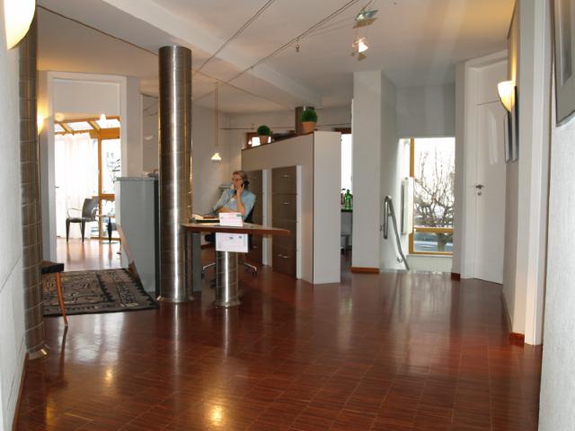 Zahnarztpraxis Stefan Bacso in Mannheim - Empfang