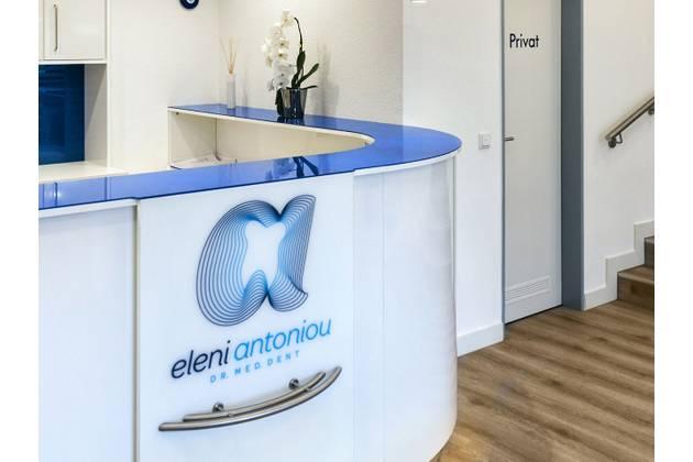 Zahnarztpraxis Eleni Antoniou in Hannover - Anmeldung