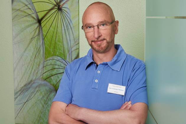 Zahnarzt Andreas Pfortner aus Wuppertal